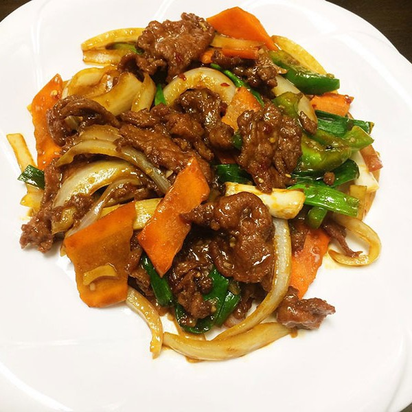 Mongolian Beef - Asia Grill - Chinese Restaurant Peoria IL