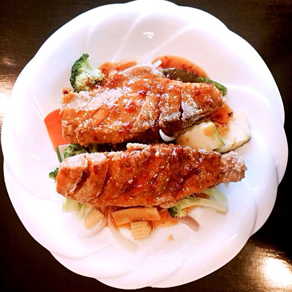 Crispy Red Snapper - Asia Grill