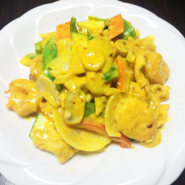Thai Curry Chicken and Shrimp - Asia Grill - Chinese Restaurant Peoria IL