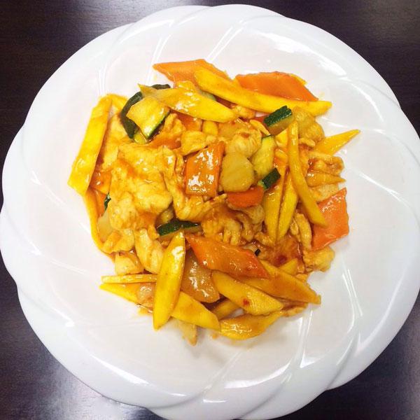 Spicy Mango Chicken - Asia Grill