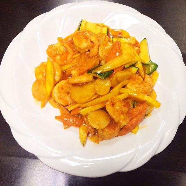 Spicy Mango Prawn - Asia Grill