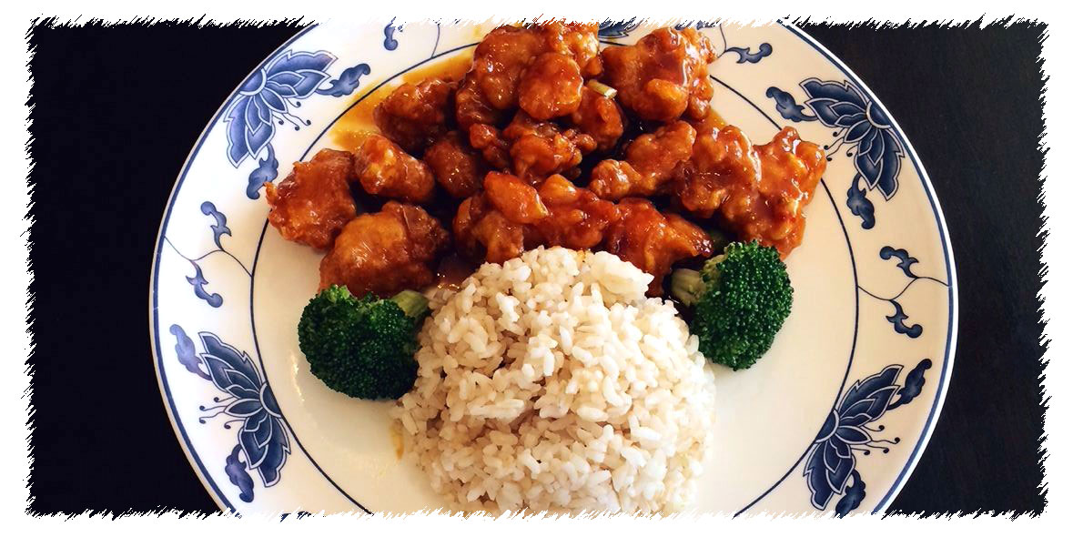 General Tso's Chicken  in Asia Grill Peoria IL
